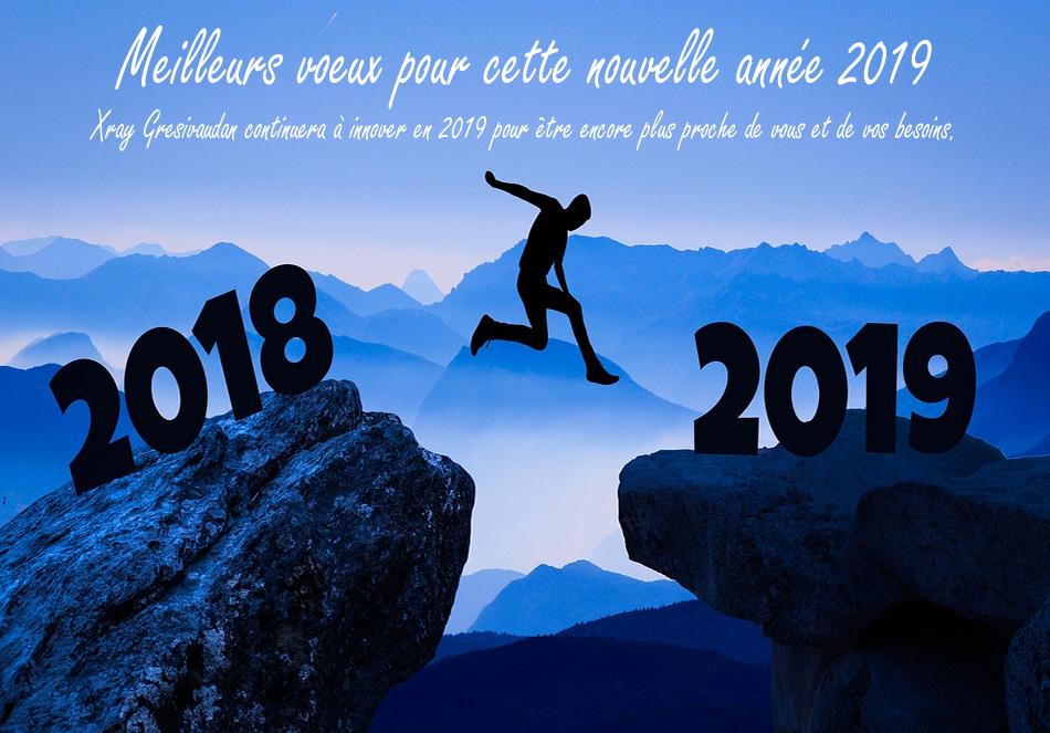 Très bonne année 2019