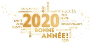 Très bonne année 2020