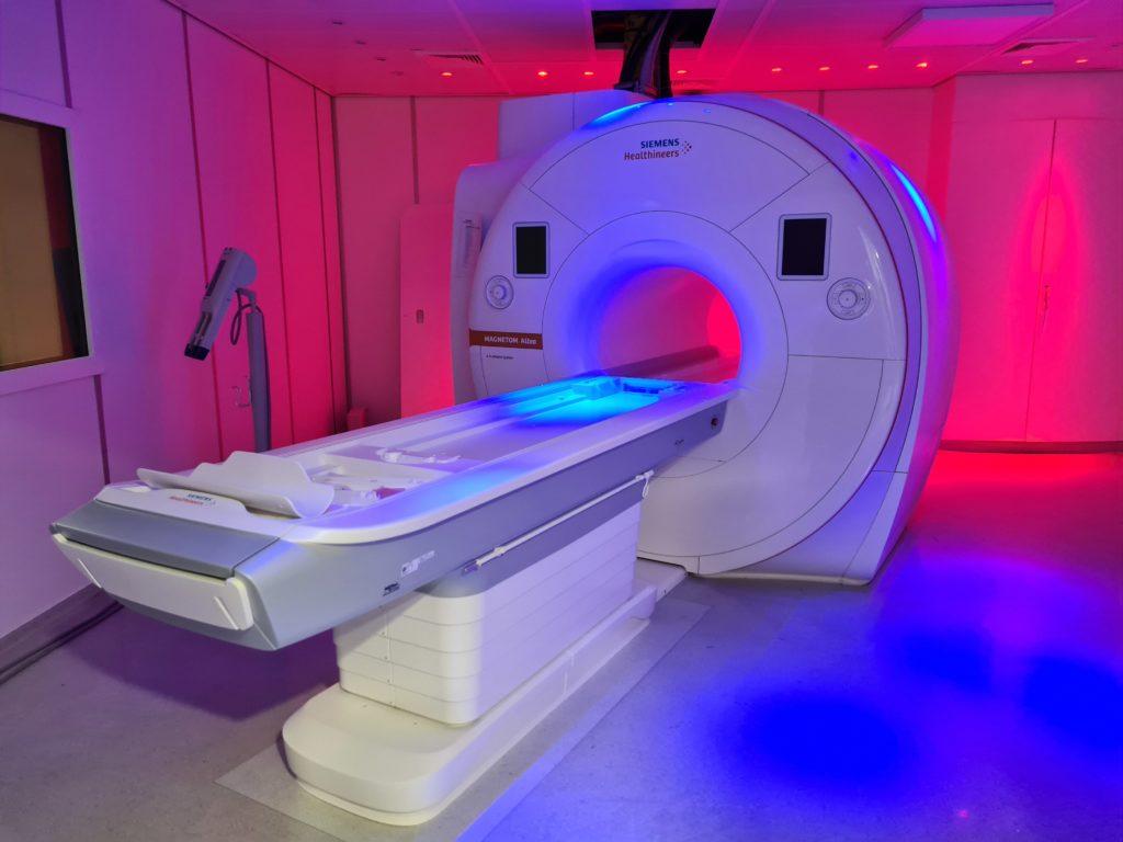 La nouvelle machine IRM est opérationnelle